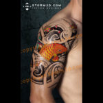 final-koifish-digital-design-japanese-polynesian-storm3d-tattoos