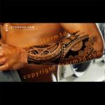 forearm-tribal-polynesian-design-storm3d-marquesas