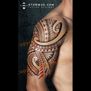 maori halfsleeve shoulder tattoos drawings for sale