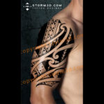 marquesas-tattoo-island-design-black-pictures-images-drawing