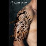 polynesian-halfsleeve-design-storm3d-tattoo