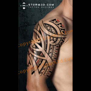 shoulder-digital-drawing-tattoo-maori-style-awesome