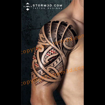 shouldertattoo-halfsleeve-storm3d-design-mockup
