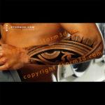 storm3d-lower-arm-forearm-tribal-tattoo-design
