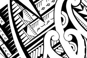 Maori-koru-patterns-with-Samoan-influenced-designs-tatoos