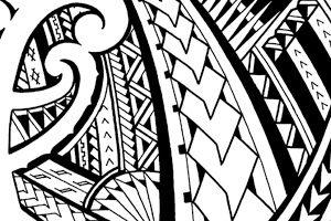 Samoan tattoos tribal designs