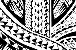 draw Samoan-arrowheads-tattoo-patterns-for-sale
