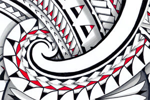 layers-maori-tattoo-red-color-shading-promarker-polynesian-designs