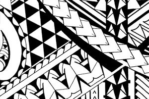 triangle-patterns-in-Samoan-tattoos-images-how-to-draw