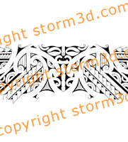 mask-armband-design-tribal-hawaii-images-sketch-drawing-bands